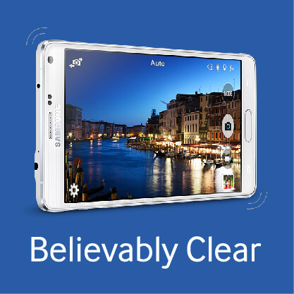 Samsung Galaxy Note 4 - Believable Clear