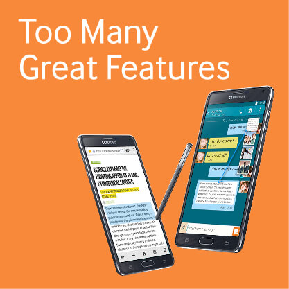 Samsung Galaxy Note 4 - Too many Great Features