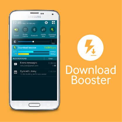 Samsung Galaxy S5 - Download Booster