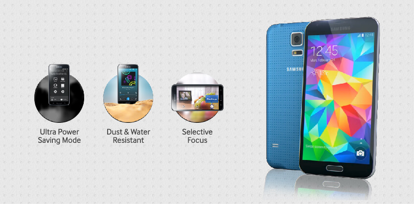 Samsung Galaxy S5 - Dust and Water Resistant