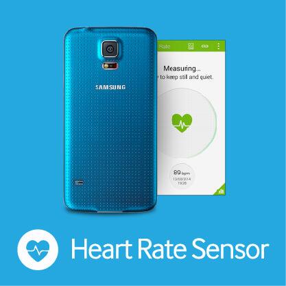 Samsung Galaxy S5 - Heart Rate Sensor
