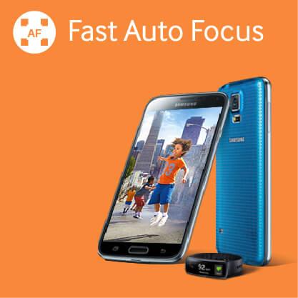 Samsung Galaxy S5 - Fast Auto Focus