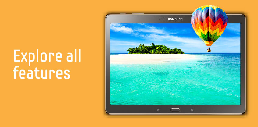 Samsung Galaxy Tab S - All Features