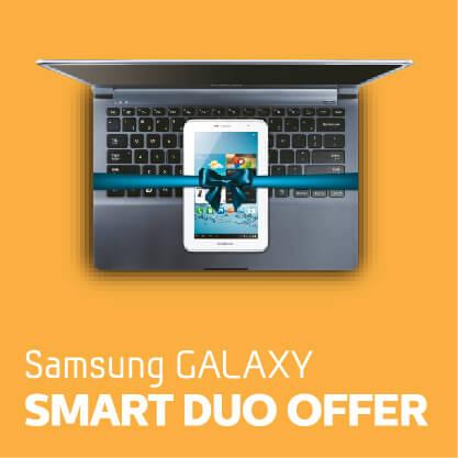 Samsung Galaxy - Smart Duo Offer